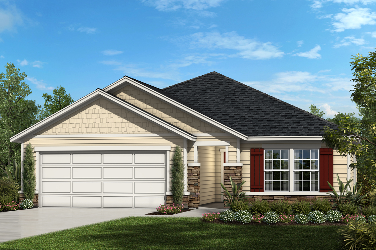 New Homes in St. Augustine, FL - The Sawyer