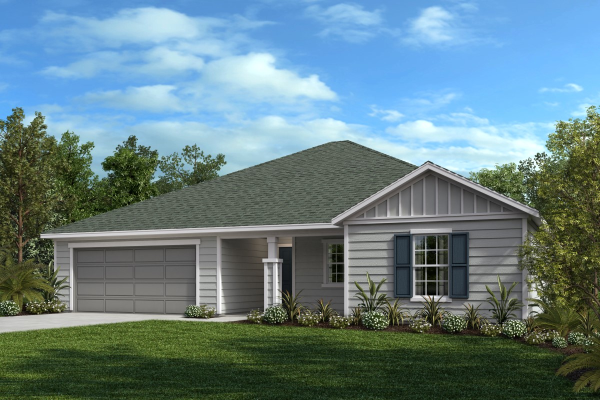 New Homes in Jacksonville, FL - Victory Crossing Plan 1903 Elevation M