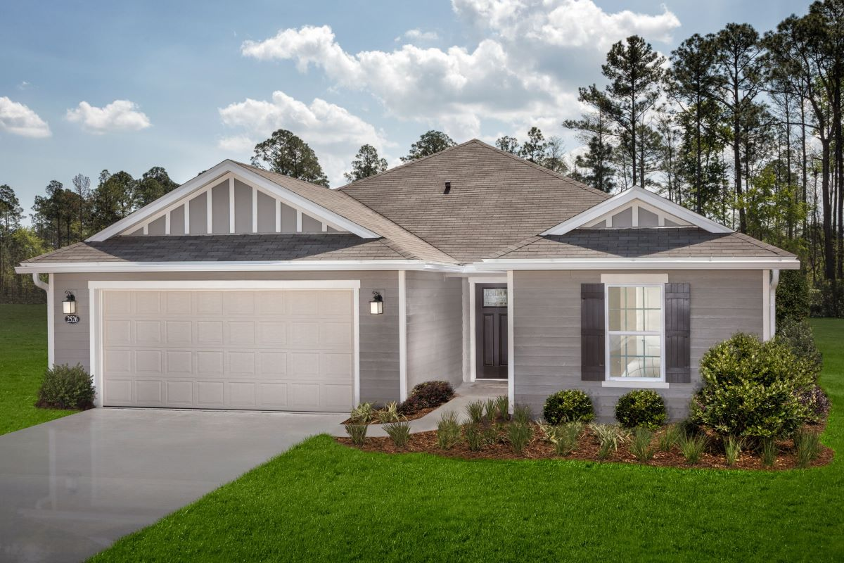 New Homes in Green Cove Springs, FL - Village Park Plan 1933 Modeled