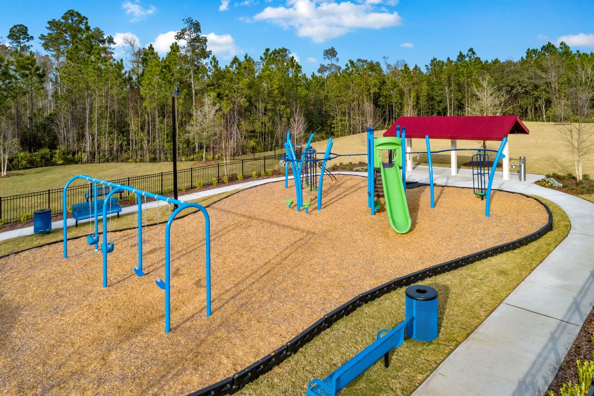 New Homes in Jacksonville, FL - The Preserve at Wells Creek - Classic Series Community Playground