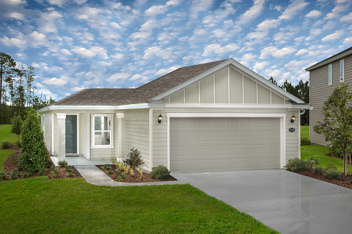 New Homes in Jacksonville, FL - The Preserve at Wells Creek - Classic Series The Branson