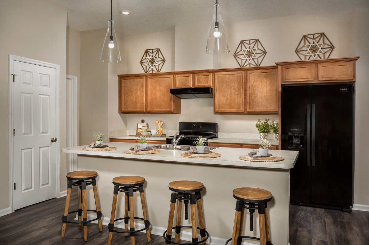 New Homes in Jacksonville, FL - The Preserve at Wells Creek - Classic Series The Branson Kitchen