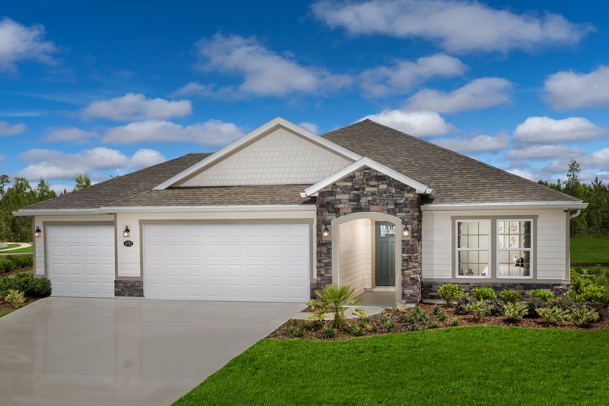 New Homes in Jacksonville, FL - The Preserve at Wells Creek - Executive Series The Hayden