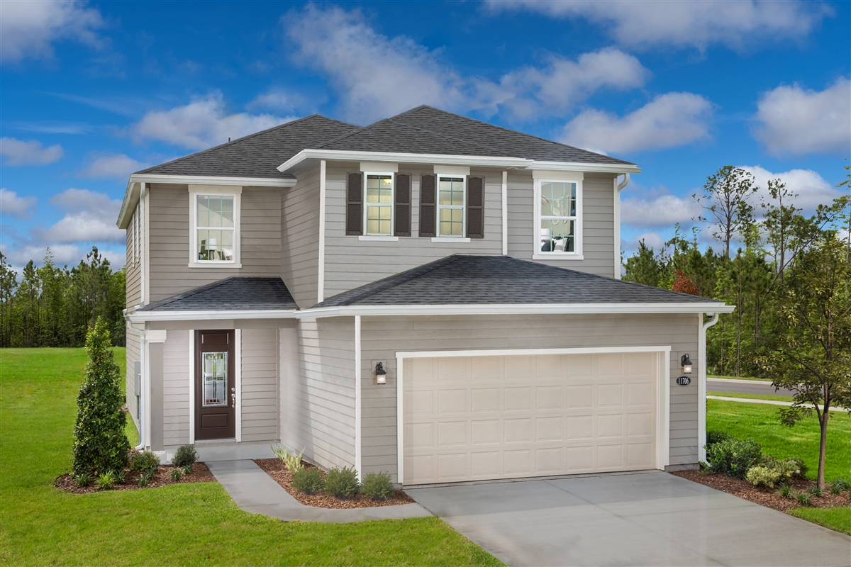 New Homes in Jacksonville, FL - The Preserve at Wells Creek - Classic Series The Westin Modeled