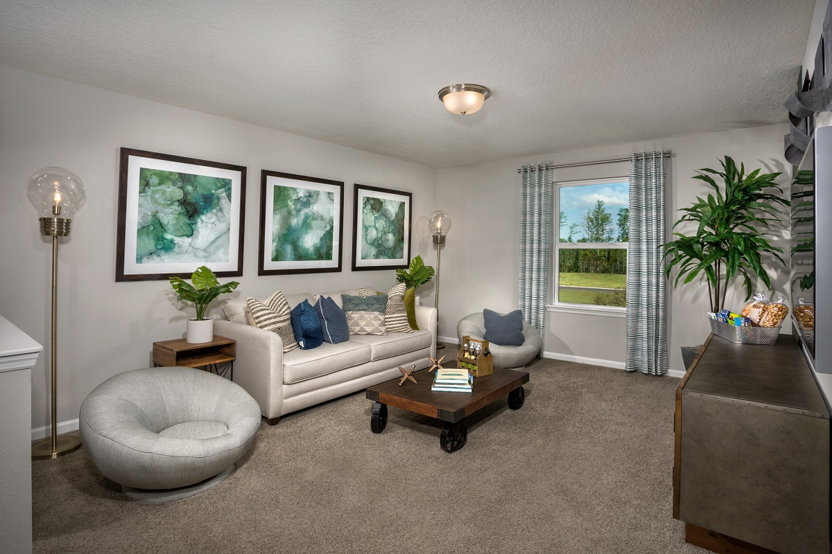 New Homes in Jacksonville, FL - The Preserve at Wells Creek - Classic Series The Westin Loft