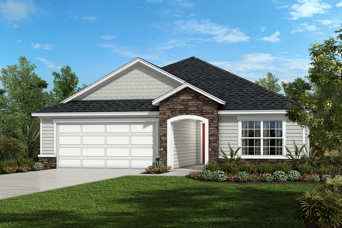 New Homes in Jacksonville, FL - The Preserve at Wells Creek - Executive Series Homesite 48