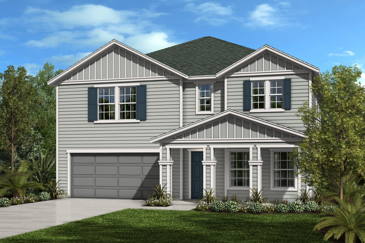 New Homes in Jacksonville, FL - The Preserve at Wells Creek - Executive Series The Palm