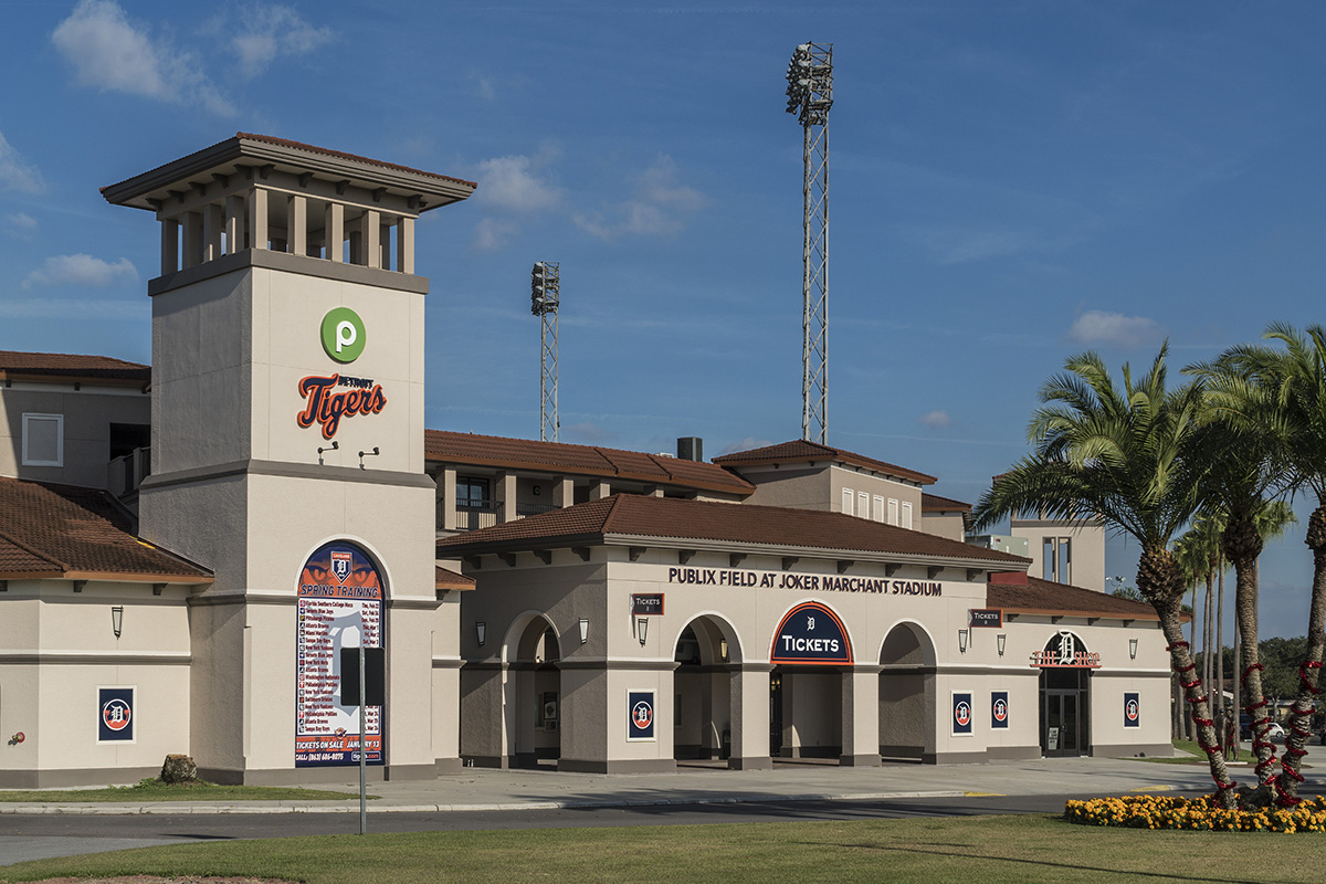 New Homes in Lakeland, FL - Cayden Reserve Publix Field at Joker Merchant Stadium - Spring Training Home of the Detroit Tigers
