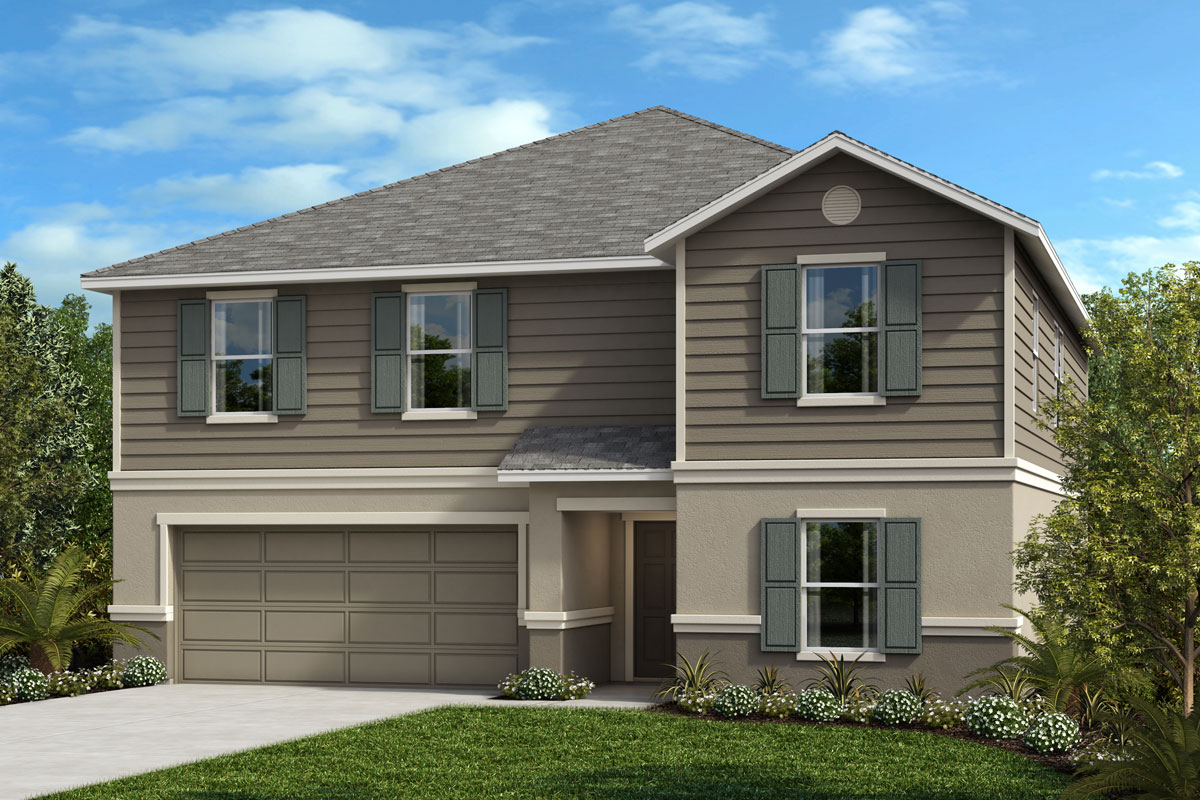 New Homes in Lakeland, FL - Elevation F