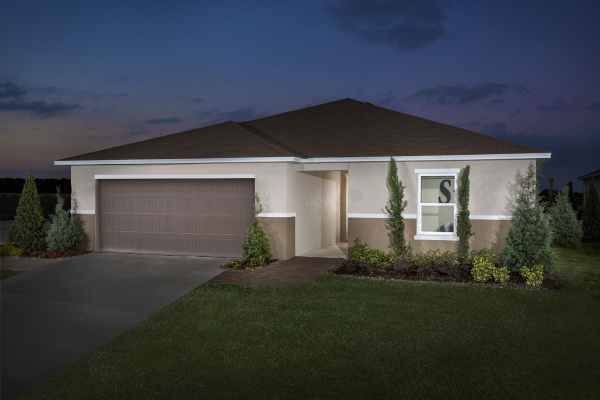 New Homes in Winter Haven, FL - Lake Lucerne Plan 1707