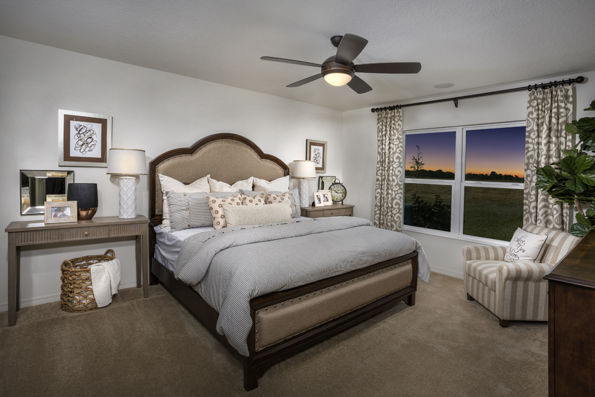 New Homes in Winter Haven, FL - Lake Lucerne 1707 Master Bedroom