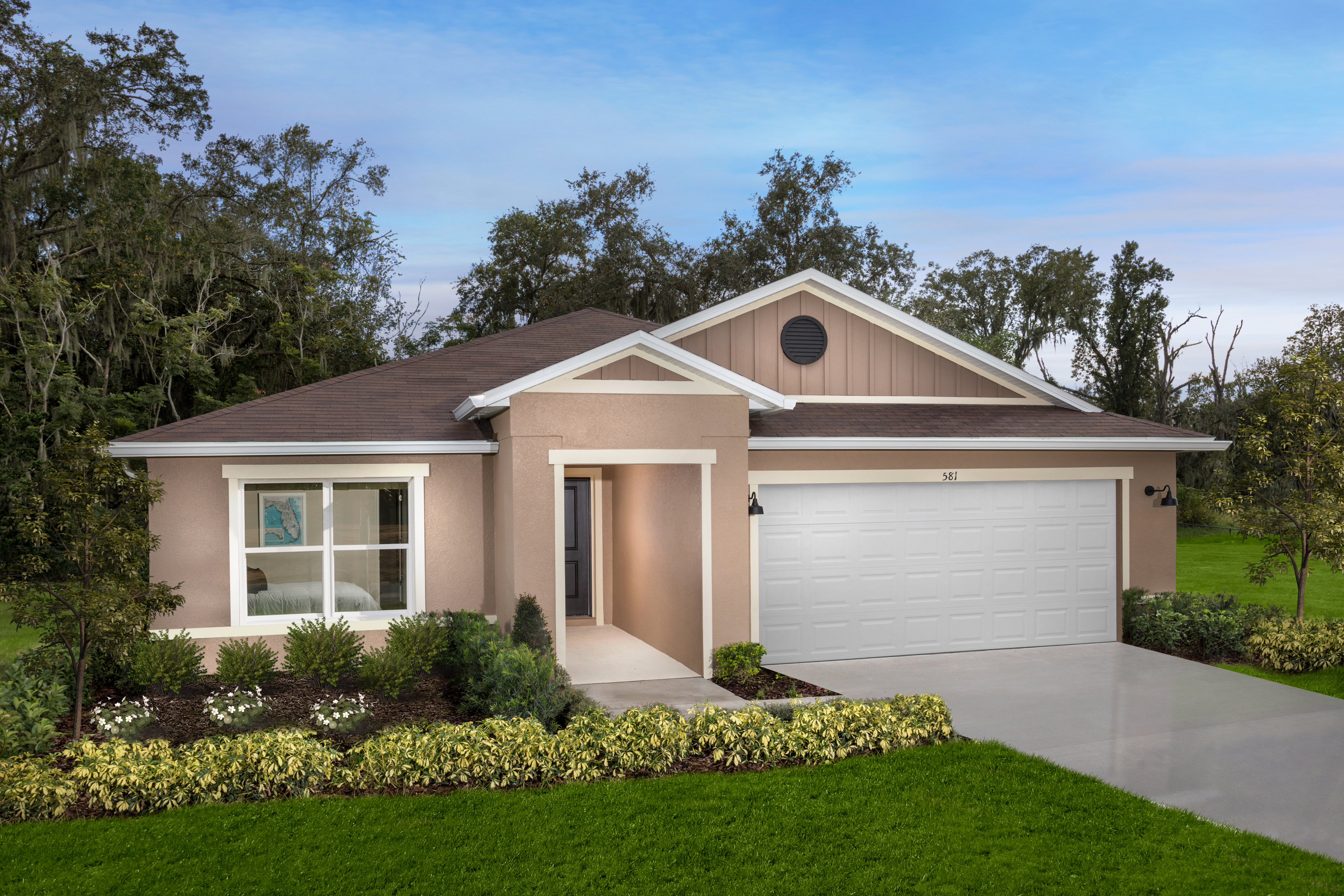 New Homes in Lakeland, FL - Plan 1989 Modeled