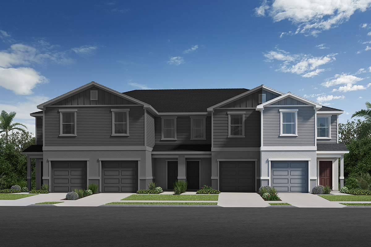 New Homes in Davenport, FL - Elevation B / 4-plex