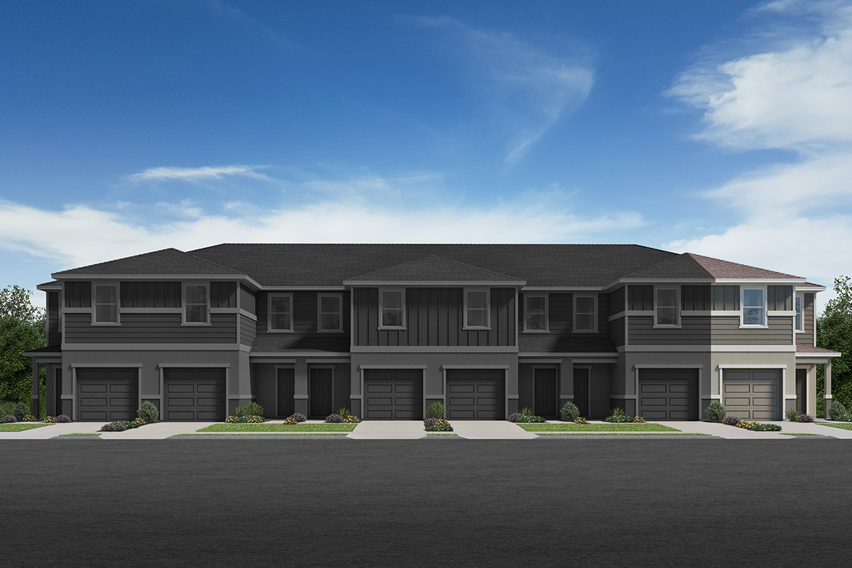 New Homes in Davenport, FL - Elevation A / 6-plex