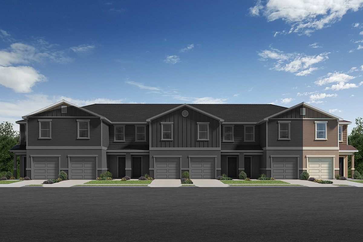 New Homes in Davenport, FL - Elevation B / 6-plex