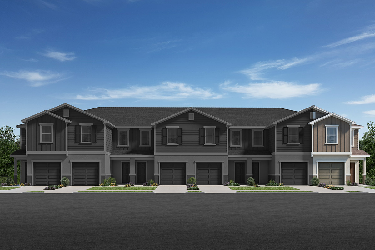 New Homes in Davenport, FL - Elevation C / 6-plex