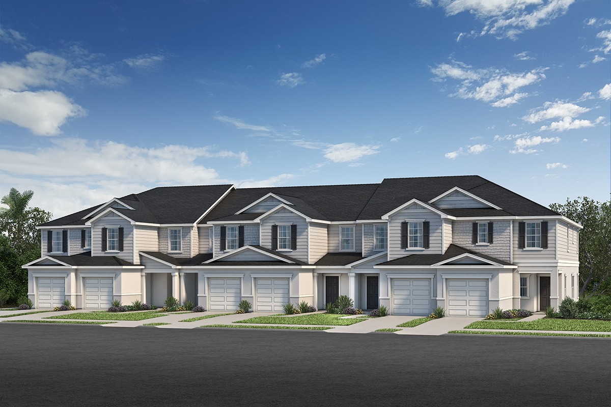 Browse new homes for sale in Landings at Riverbend Townhomes