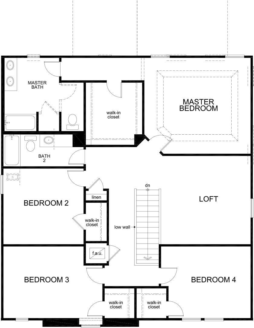 New Homes in Clermont, FL - Plan 2716, Second Floor