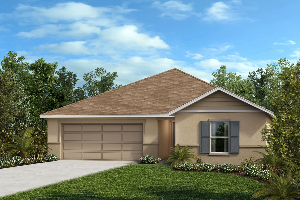 New Homes in Haines City, FL - Summerlin Groves Homesite 90