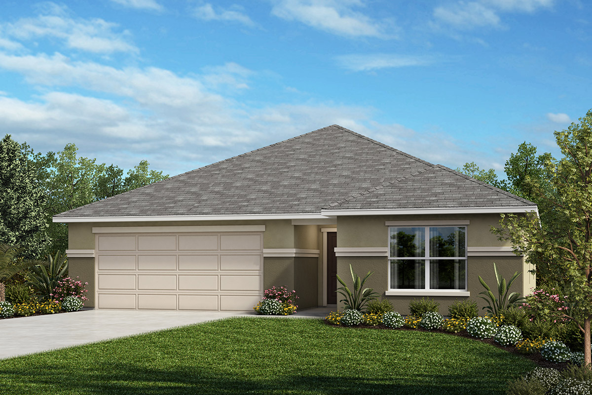 New Homes in Auburndale, FL - Elevation A