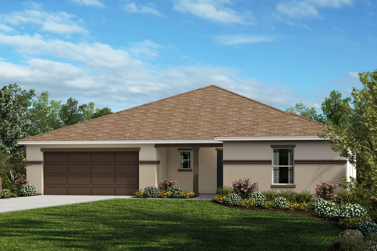 New Homes in Apopka, FL - Elevation A