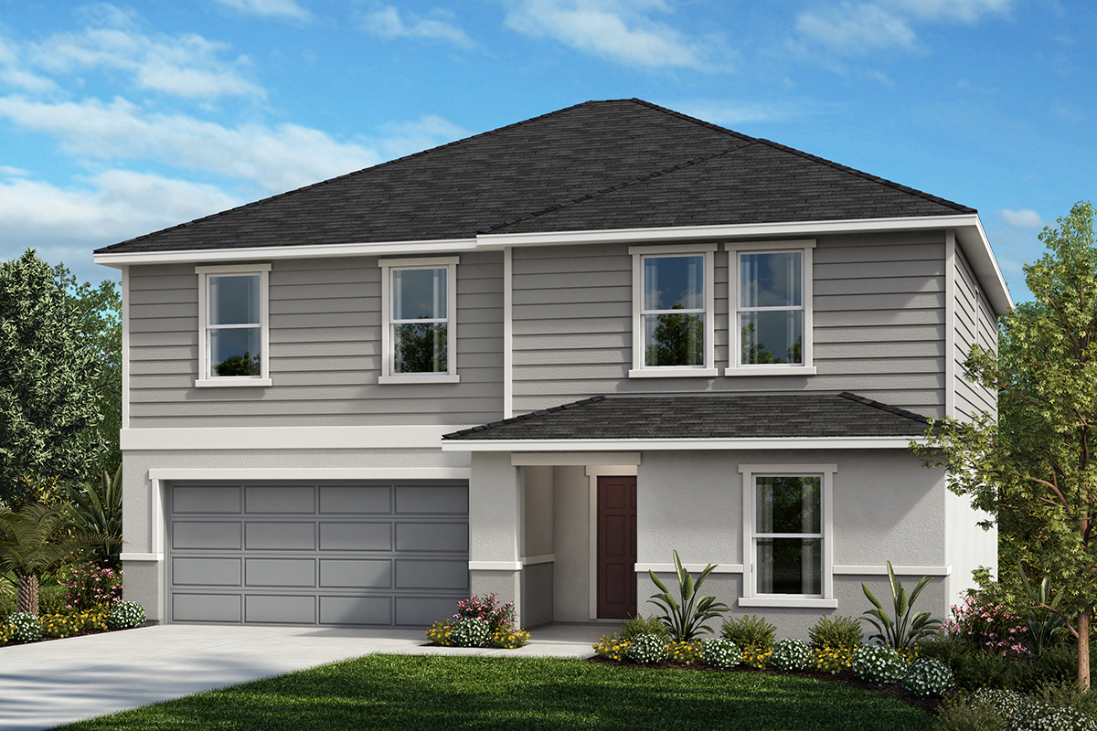New Homes in St. Cloud, FL - Elevation E