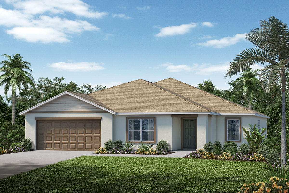 New Homes in Minneola, FL - The Reserve at Lake Ridge Plan 2668 Elevation A