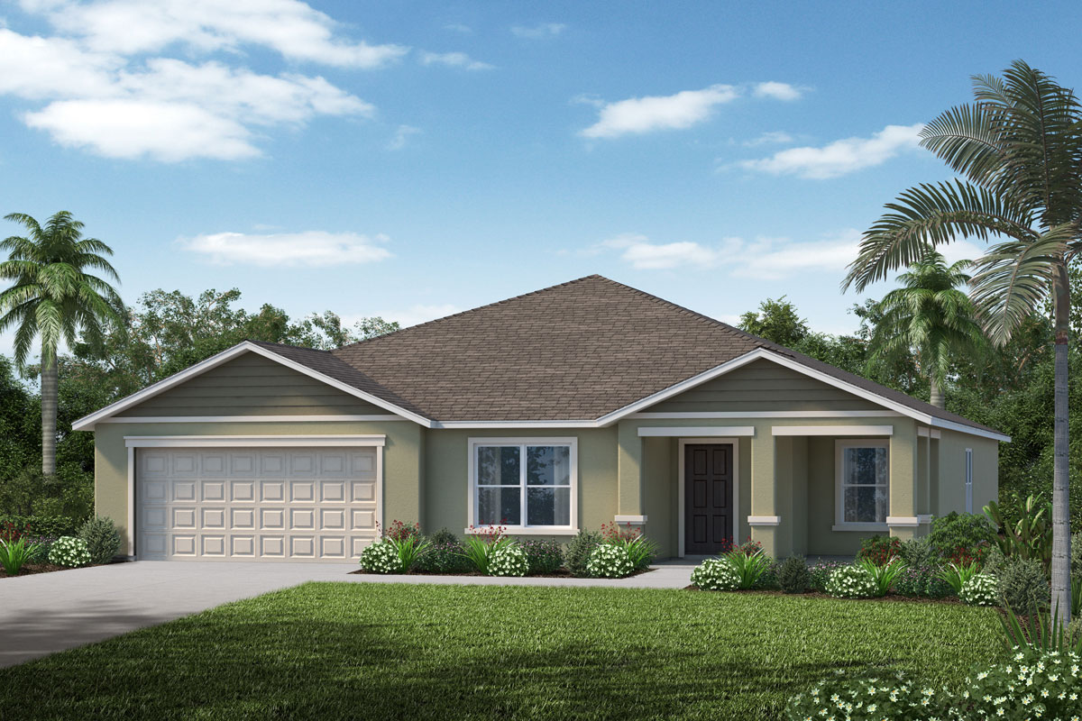 New Homes in Minneola, FL - Elevation F