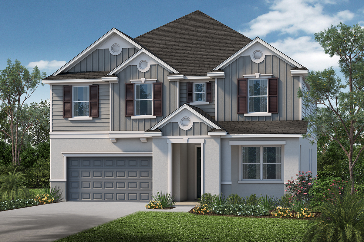New Homes in Apopka, FL - Elevation I
