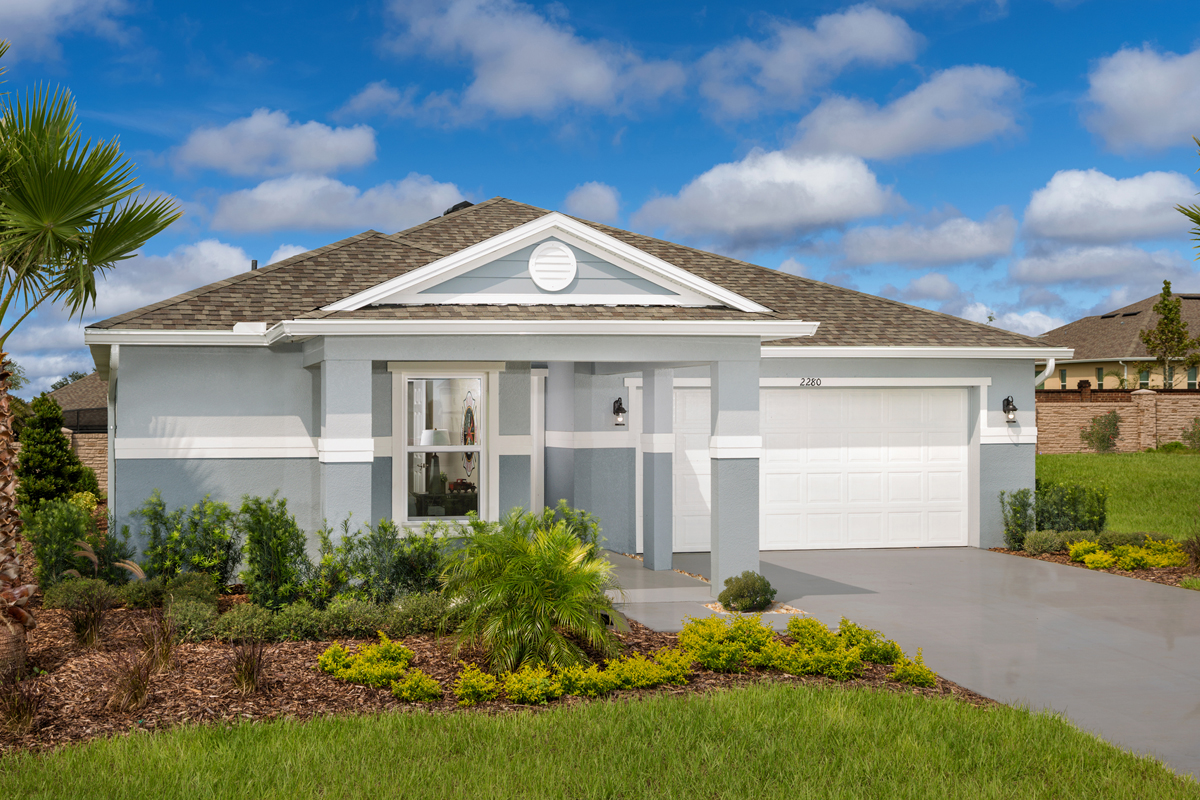 New Homes in Apopka, FL - Plan 1723 - Modeled