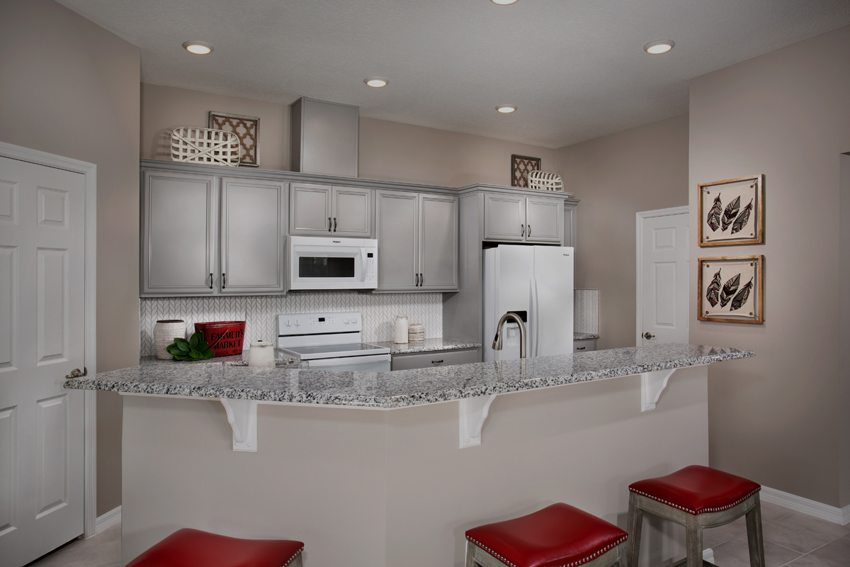 New Homes in Apopka, FL - Carriage Hill Plan 1723 Kitchen