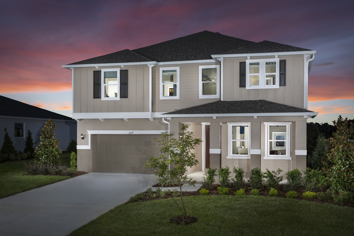 New Homes in Apopka, FL - Carriage Hill Plan 3203