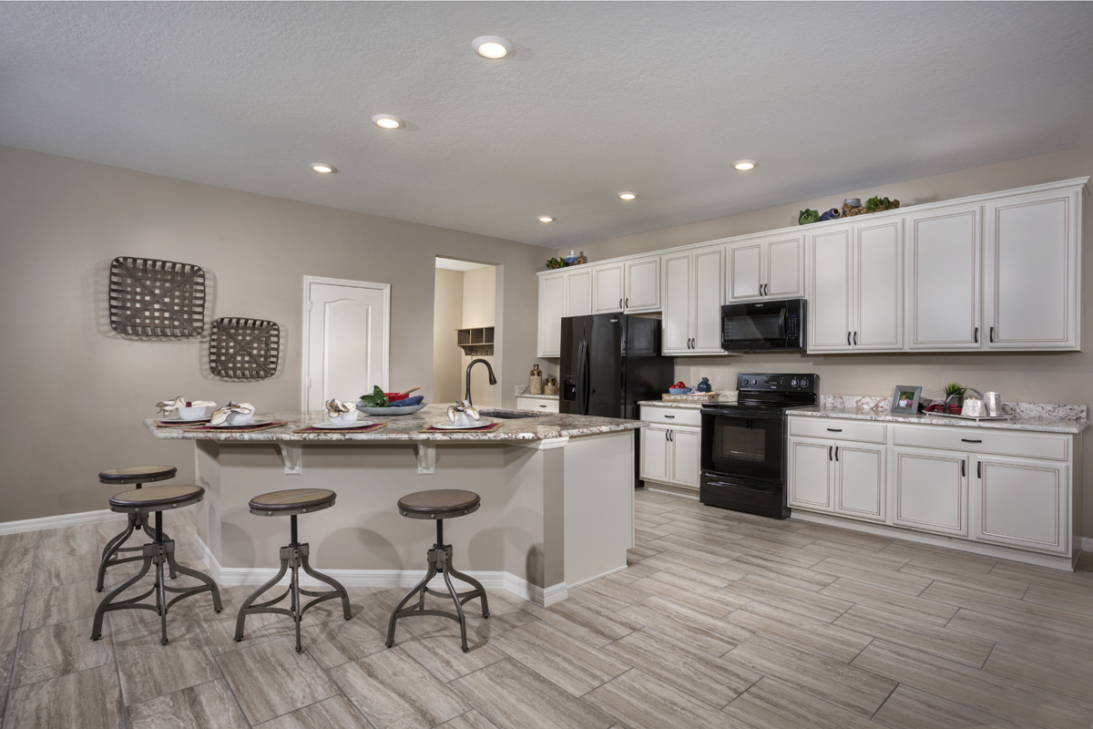 New Homes in Apopka, FL - Carriage Hill 3203 Kitchen