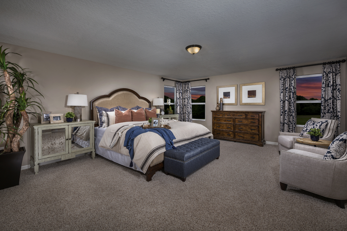 New Homes in Apopka, FL - Carriage Hill 3203 Master Bedroom