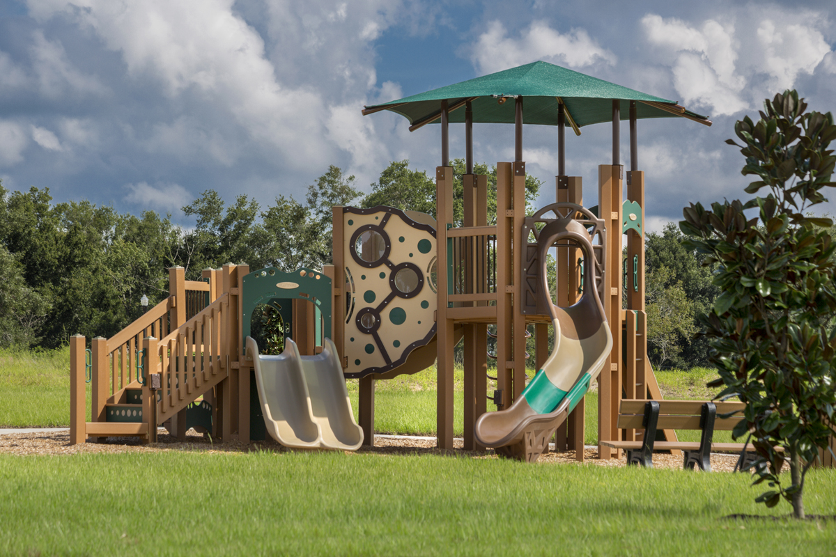 New Homes in Apopka, FL - Carriage Hill Community Tot Lot