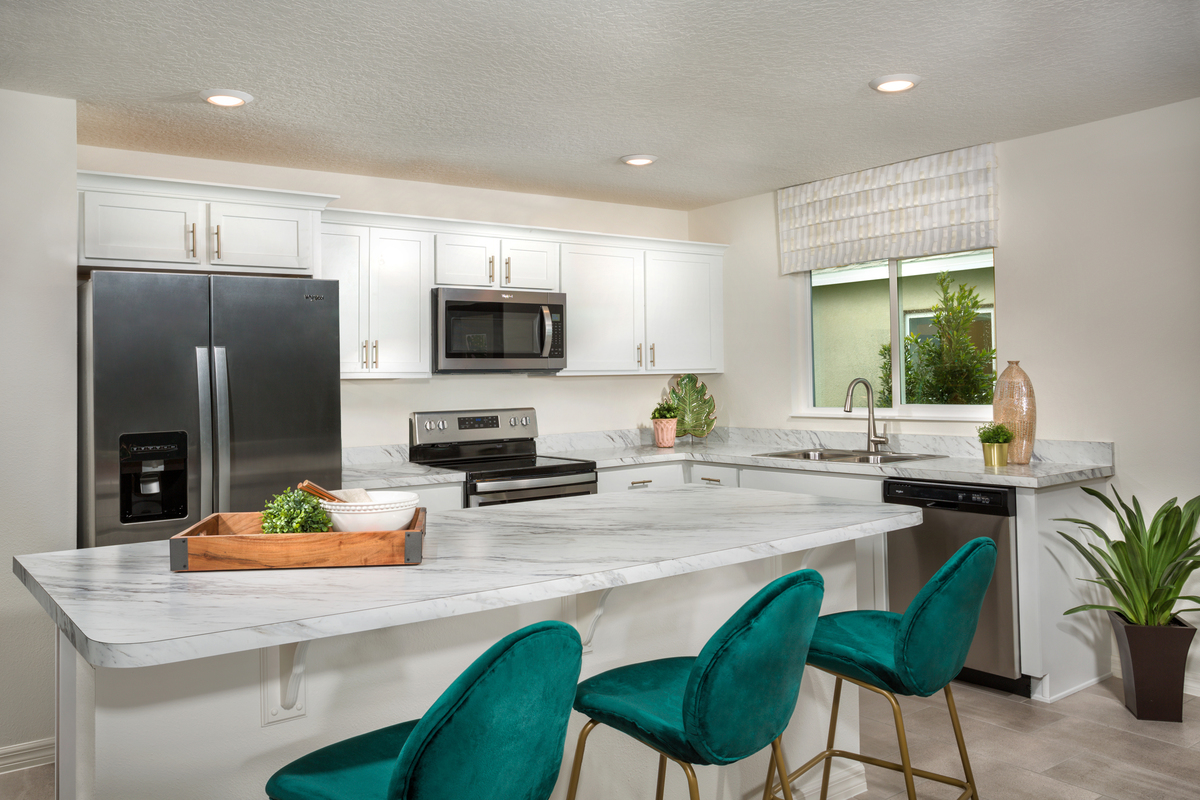 New Homes in Kissimmee, FL - Casa Bella Plan 1541 Kitchen