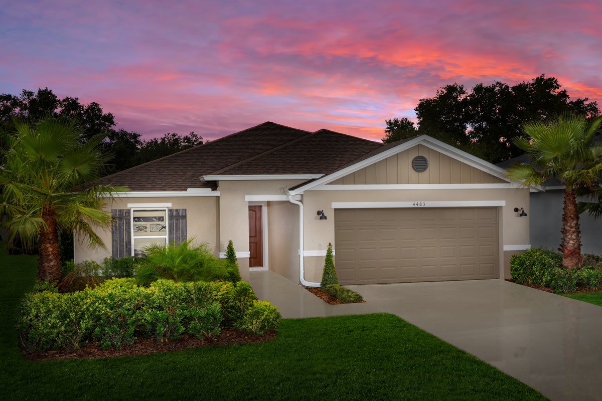 New Homes in Kissimmee, FL - Plan 1707 Modeled