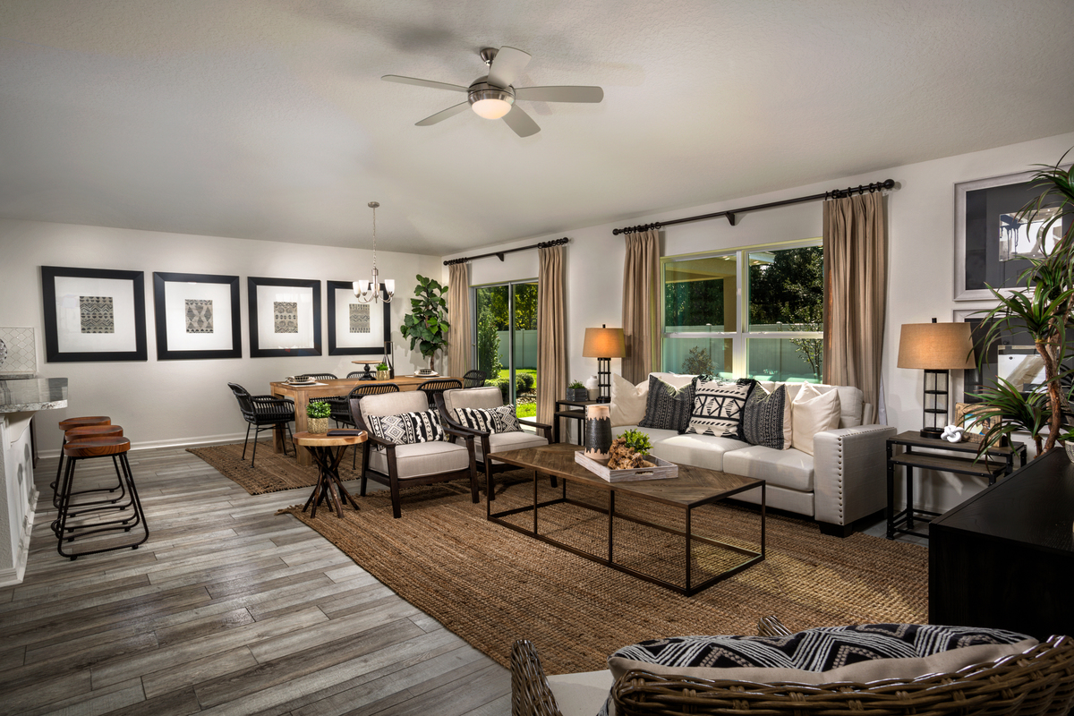 New Homes in Kissimmee, FL - Casa Bella Plan 1707 Great Room