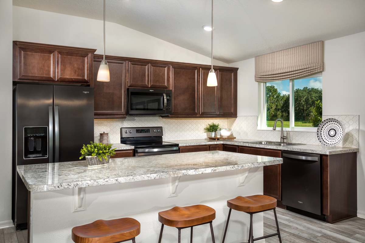 New Homes in Kissimmee, FL - Casa Bella Plan 1707 Kitchen