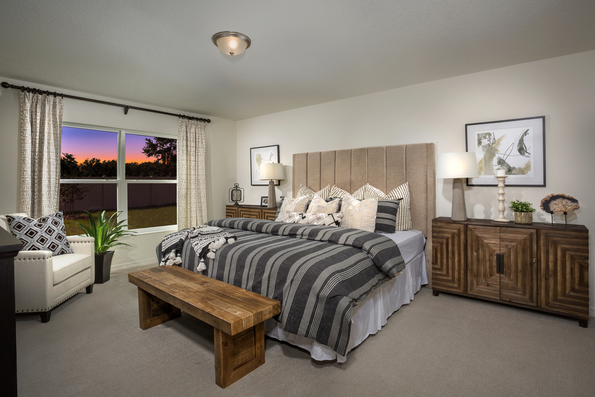 New Homes in Kissimmee, FL - Casa Bella Plan 1707 Master Bedroom