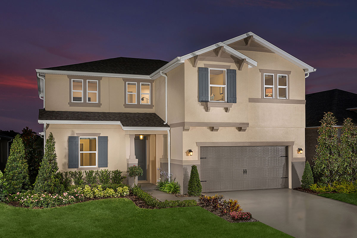 Plan 2663 new home floor plan in creekstone by kb home for House of floors orlando florida