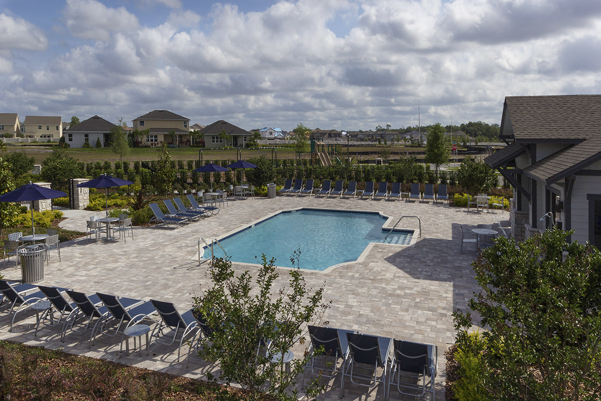 New Homes in Orlando, FL - Creekstone Community Pool