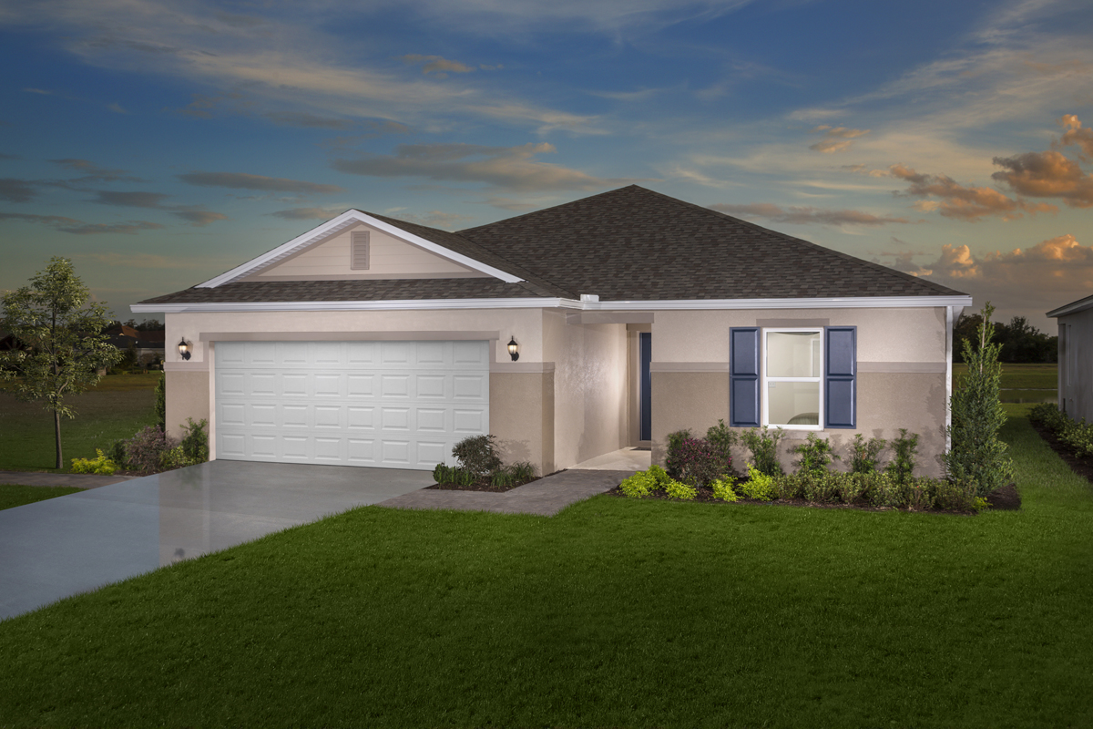 New Homes in Orlando, FL - Plan 1760 Modeled