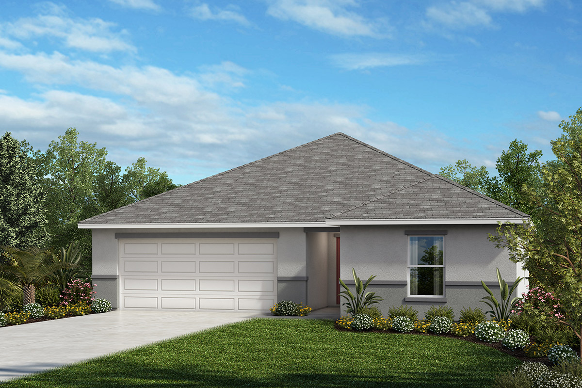 New Homes in Kissimmee, FL - Eagle Hammock Plan 1541