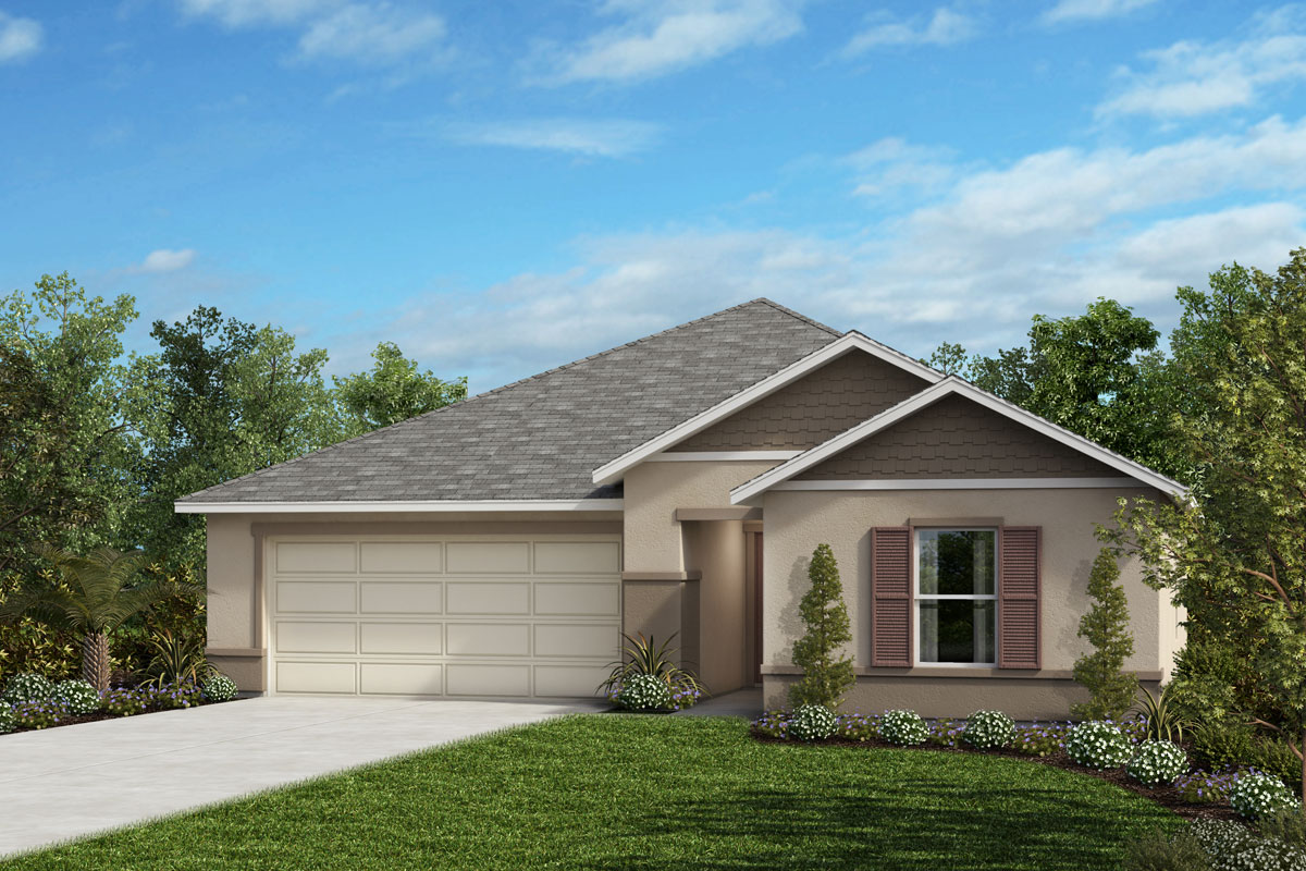New Homes in Mascotte, FL - Elevation H