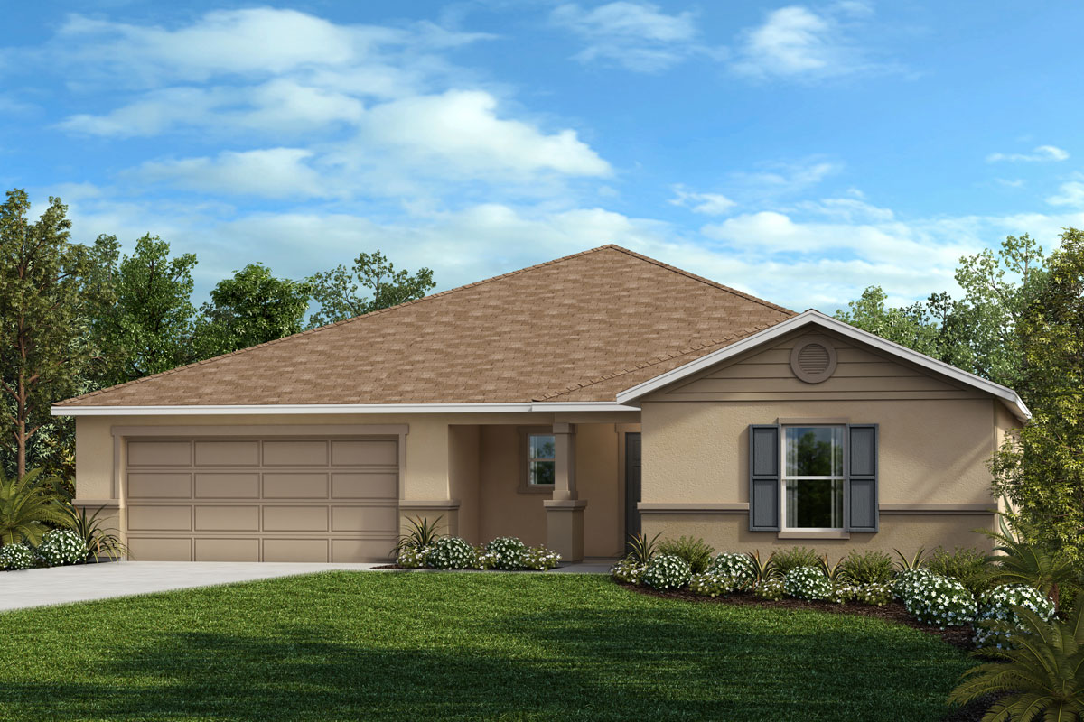 New Homes in Mascotte, FL - The Gardens at Lake Jackson Ridge Plan 2178