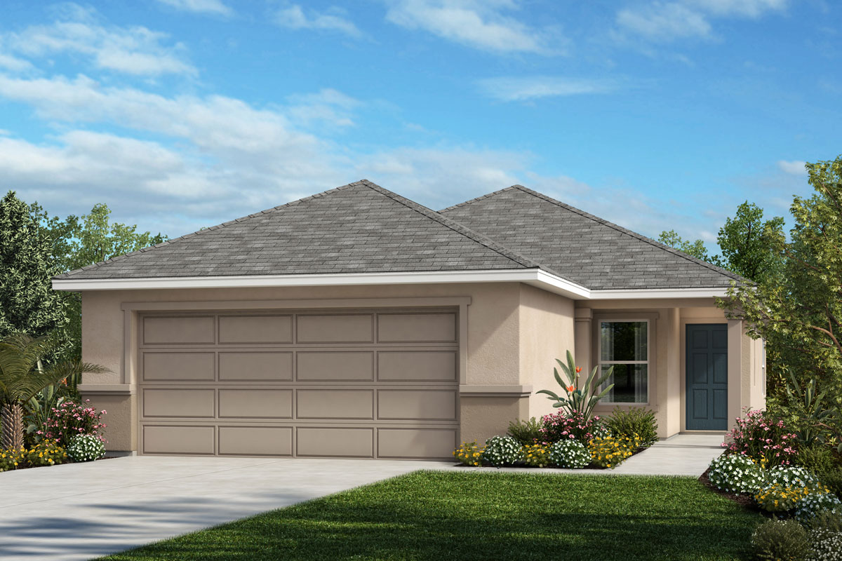 New Homes in St. Cloud, FL - Elevation A