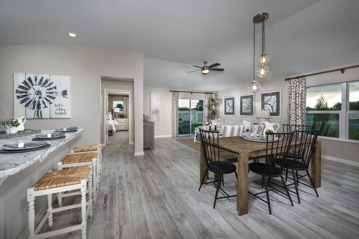 New Homes in St. Cloud, FL - Gramercy Farms II 1511 Great Room