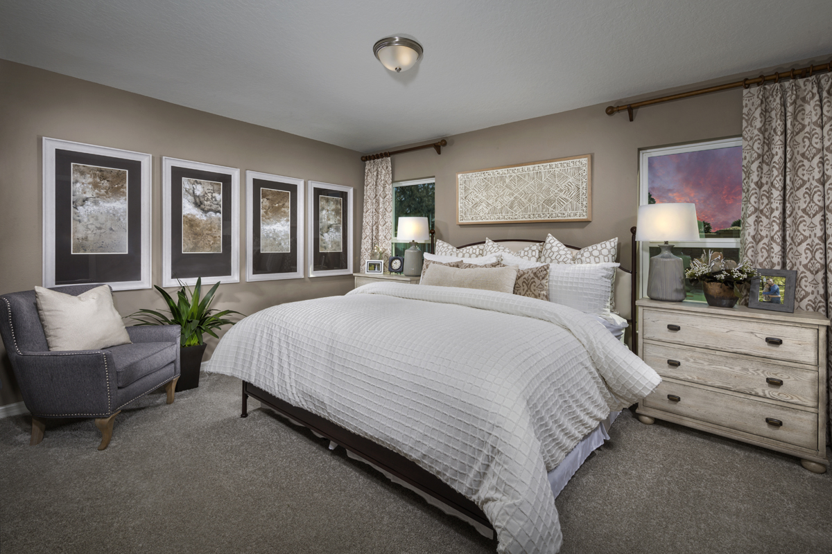 New Homes in St. Cloud, FL - Gramercy Farms II 1511 Master Bedroom