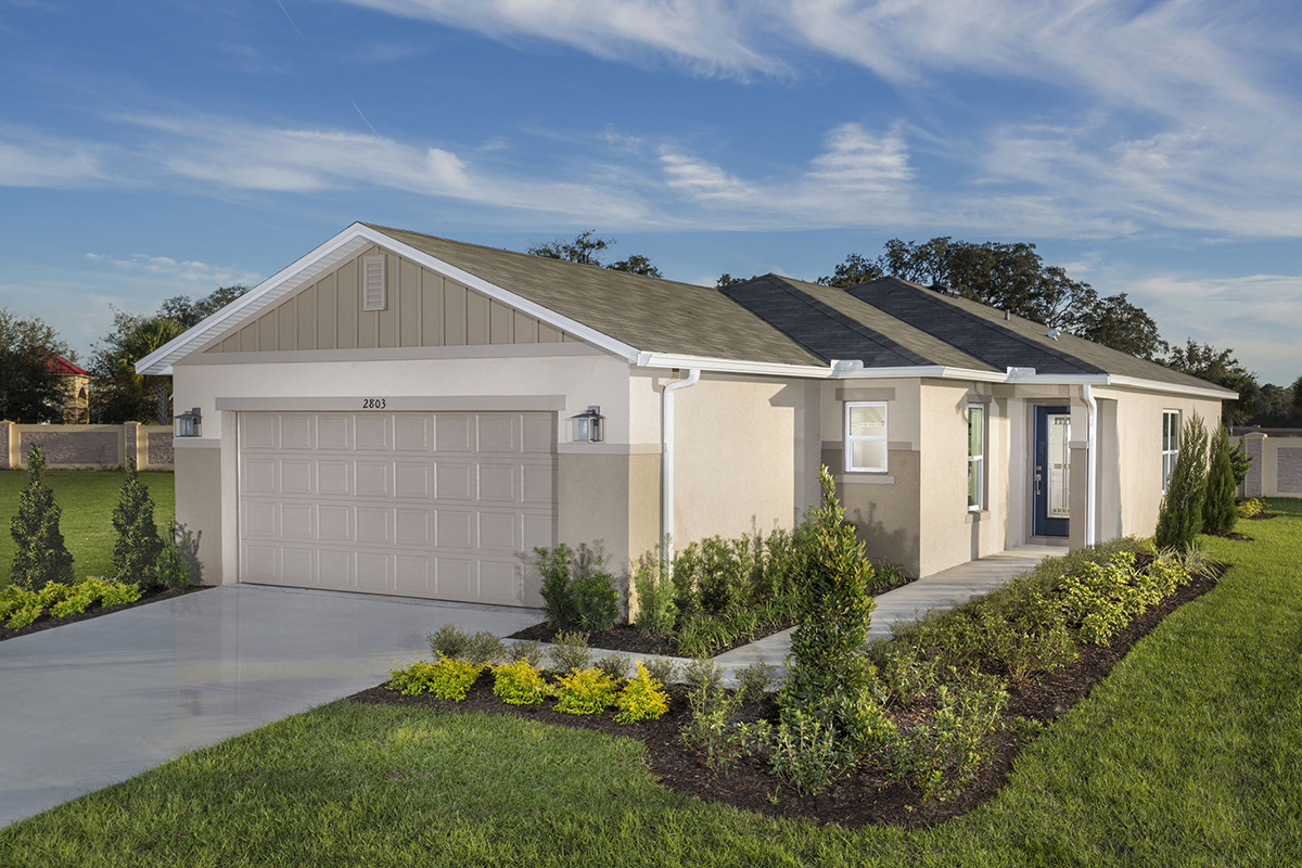 New Homes in St. Cloud, FL - Gramercy Farms II Plan 1511 as modeled at Gramercy Farms